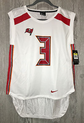 aeaeae45d NIKE NFL Tampa Bay Buccaneers  3 Winston White S L Football Jersey NEW  Womens