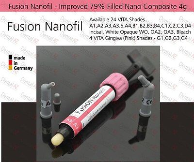 VITA A3.5 Dental Nano Composite 79% Filled Light Cured Universal Fine Hybrid, 4g