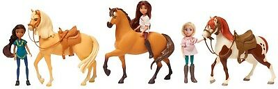 Spirit Riding Free Exclusive 3 Horse Boxed Set Horse and Doll Set