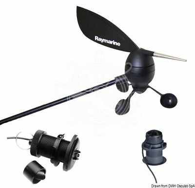 Raymarine Complete i50 i60 instruments, transducers, connection cables package