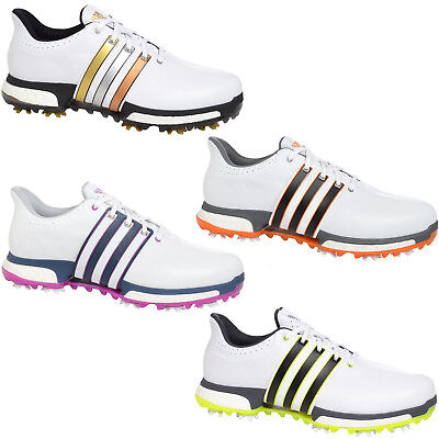 adidas Performance Mens Tour 360 Boost WD Climaproof Puremotion Golf Shoes
