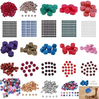 100x Vintage Sealing Wax Tablet Pill Beads for Envelope Document Wax Seal Stamp