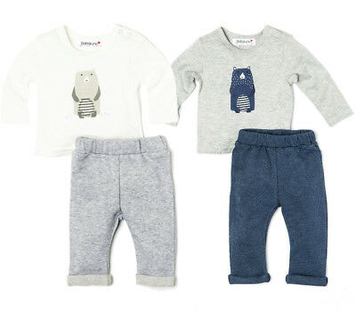Baby Toddler Boys Long Sleeved Top & Fleece Jogpants Outfit 12-24 Months