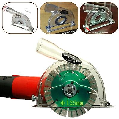 """Transparent Grinding Dust Cover For 4"""" 5"""" Angle Grinder & 3""""/4""""/5"""" saw blades"""