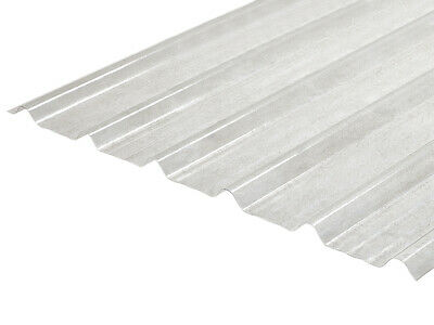 Translucent GRP rooflight sheet, 32/1000 profile 1.5mm thickness Various lengths