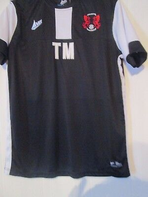 Leyton Orient Avec Mezague worn Training black 2016-2017 Football Shirt  /43332