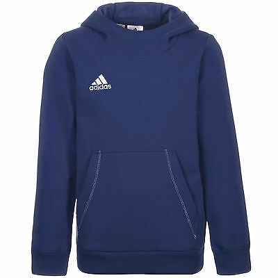adidas Performance Core 15 Trainingskapuzenpullover Kinder Blau NEU