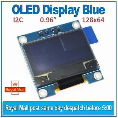 OLED DISPLAY BLUE 128X64 0 96