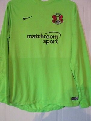 Leyton Orient Match worn Large Goalkeeper Football Shirt /43356