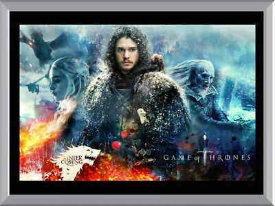 Gameo Of Thrones - Season 7 A1 To A4 Size Poster Prints