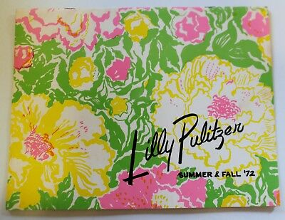 VTG Lilly Pulitzer Catalog Summer & Fall 1972