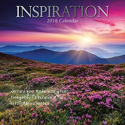 2018 Inspiration Calendar by The Gifted Motivational Photography Quotes