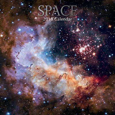 2018 Space Calendar by The Gifted Galaxy Stars Moon Milkyway Photography
