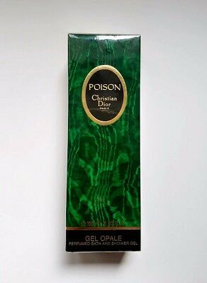 Christian Dior Poison Perfumed Shower Gel 150 Ml 5 Us.fl, New & Sealed