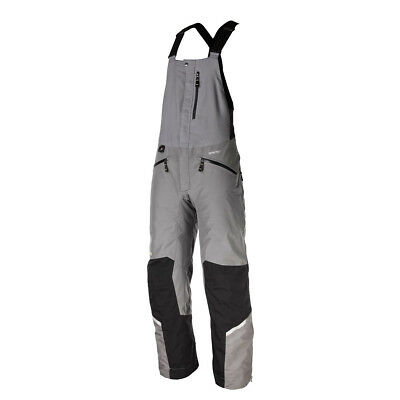 Klim Keweenaw Men's Insulated Snowmobile Bib Gray XXL