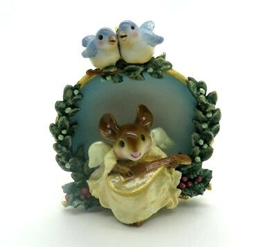WEE FOREST FOLK 2007 RETIRED Christmas Angel Ornament CO1 Mint In Box