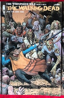 Walking Dead #159 NM Arthur Adams Connecting Cover VARIANT