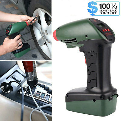 12V Handheld Portable Air Compressor Car Dragon Style Tire Tyre Inflation Pump