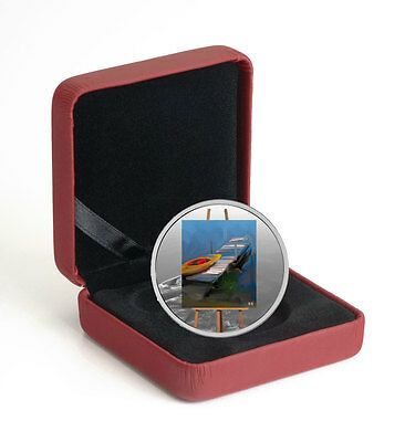 2017 Canada En Plein Air - Paddle Awaits 1 oz Silver $20 GEM Proof OGP SKU48387