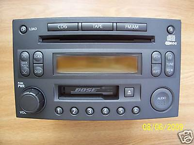2003 Nissan Bose 350Z OEM Radio 6 CD Changer CR160 PP-2514L