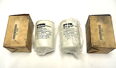 New Lot Of 2 Parker Filtration 926543 Hydraulic Filter