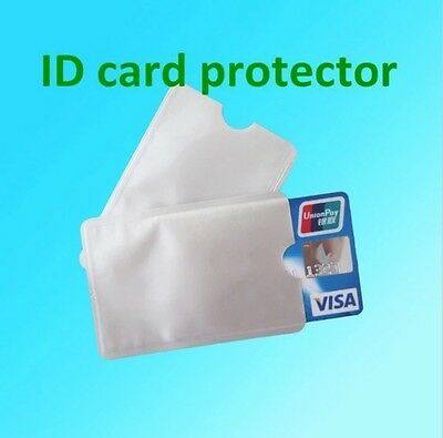 5 pieces Credit card, ID sleeve protector, anti scam