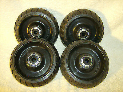 Set Of 4 Wheels For Stryker Stretcher