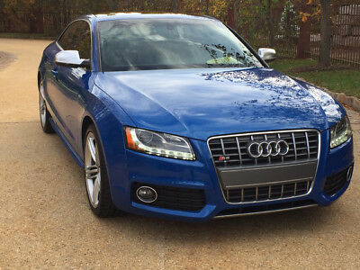 2011 Audi S5 Base Coupe 2-Door low mile free shipping warranty manual loaded rare finance luxury quattro awd