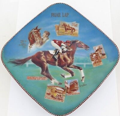 Very Nice Phar Lap Collectors Plate By Bradford Exchange / Bradex. 03-W43-5.1