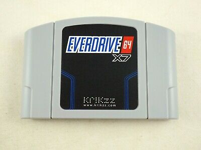 New Everdrive 64 v3 for Nintendo N64 (Official Krikzz) CIC Ready US Seller