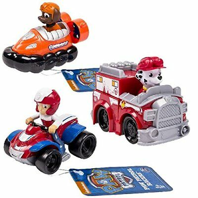 2f90c3c63 NICKELODEON PAW PATROL Racers Team Pack Chase Zuma Ryder - $27.95 ...