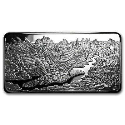 10 oz Silver Bar RMC - Minted Silver Eagle - Republic Metals Corp
