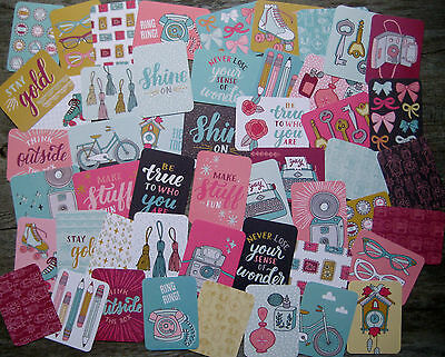 """'knick Knack' Edition Project Life Cards By Becky Higgins - 3"""" X 4"""" - 50 Pk"""