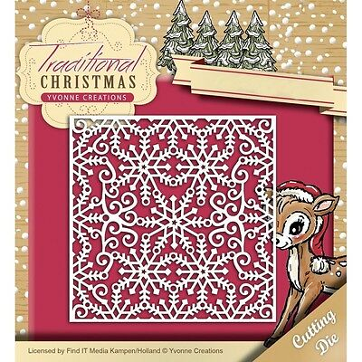 Find It Trading Yvonne Creations Traditional Christmas Die - Snowflake Frame