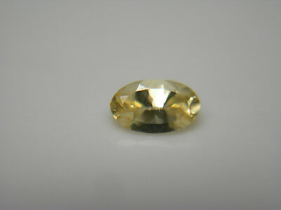 YELLOW TANZANITE zoisite VERY RARE gem FANCY Golden COLOR gemstone oval 0.36ct