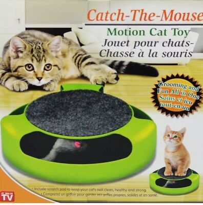 Motion Cat Toy Make Your Kitty Happy
