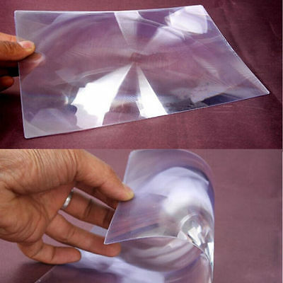 1pc XL Full Page Magnifying Sheet Fresnel Lens 3X Magnification Magnifier N ZZ