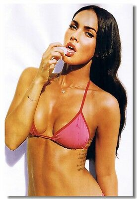 Poster Megan Fox Movie Star Room Club Art Wall Cloth Print 204