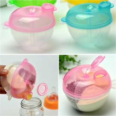Portable Baby Milk Powder Dispenser Infant Kids Food Container