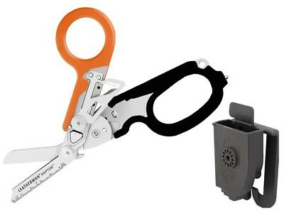 Leatherman Raptor Orange Multi Emergency Tool with Polymer Holster CP 832172