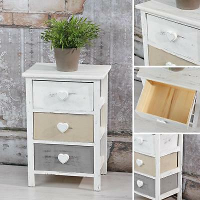 highboard kommode mit 5 schubf chern shabby chic holz. Black Bedroom Furniture Sets. Home Design Ideas