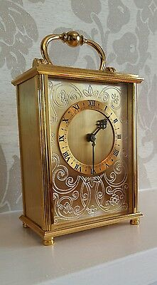 Vintage Swiss 8 day carriage clock