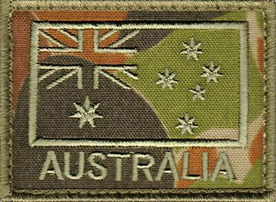 ADF Auscam Subdued Australian Flag Patch Army Military SAS Commando