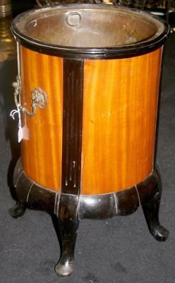 Good Quality 19th c. Satinwood & Ebony Wine Cooler