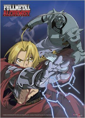 FullMetal Alchemist: Ed and Al Transmutation Battle Wall Scroll