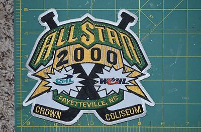 "2000 Throwback CHL All Star Fayetteville NC Minor League Hockey Jersey 5"" Patch"