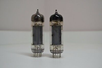 2pcs 6P14P-EV Matched Pair Gold Grid tube EL84 6BQ5 Strong