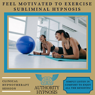 Feel Motivated to Exercise Hypnosis, Stop Lazy Habits, Get Fit Faster, Burn Fat