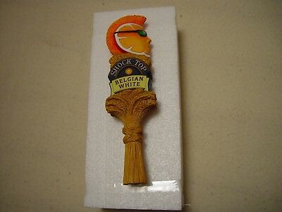"NEW 8"" SHOTGUN Shock Top Belgian Craft Beer Keg Tap Handle Pull Bar Knob"