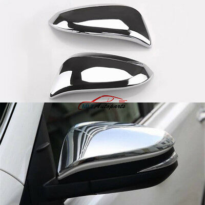 For Toyota 4Runner 2014 - 2017 Side Rear Back View Rearview Mirror Cover Trim